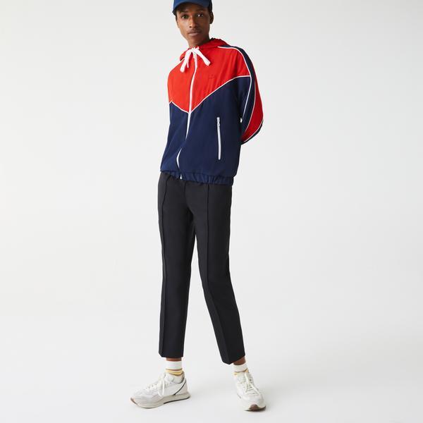 Lacoste Women's Hooded Colorblock Zip Sweatshirt