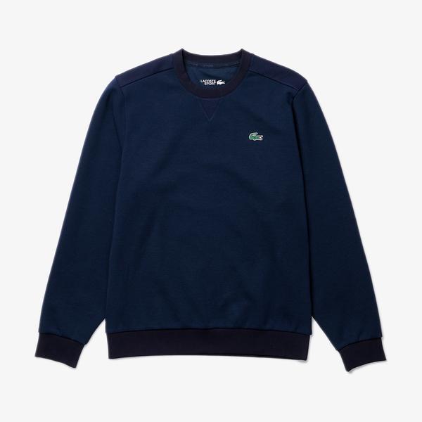 Lacoste Men?s Lacoste SPORT Mesh Panels Sweatshirt
