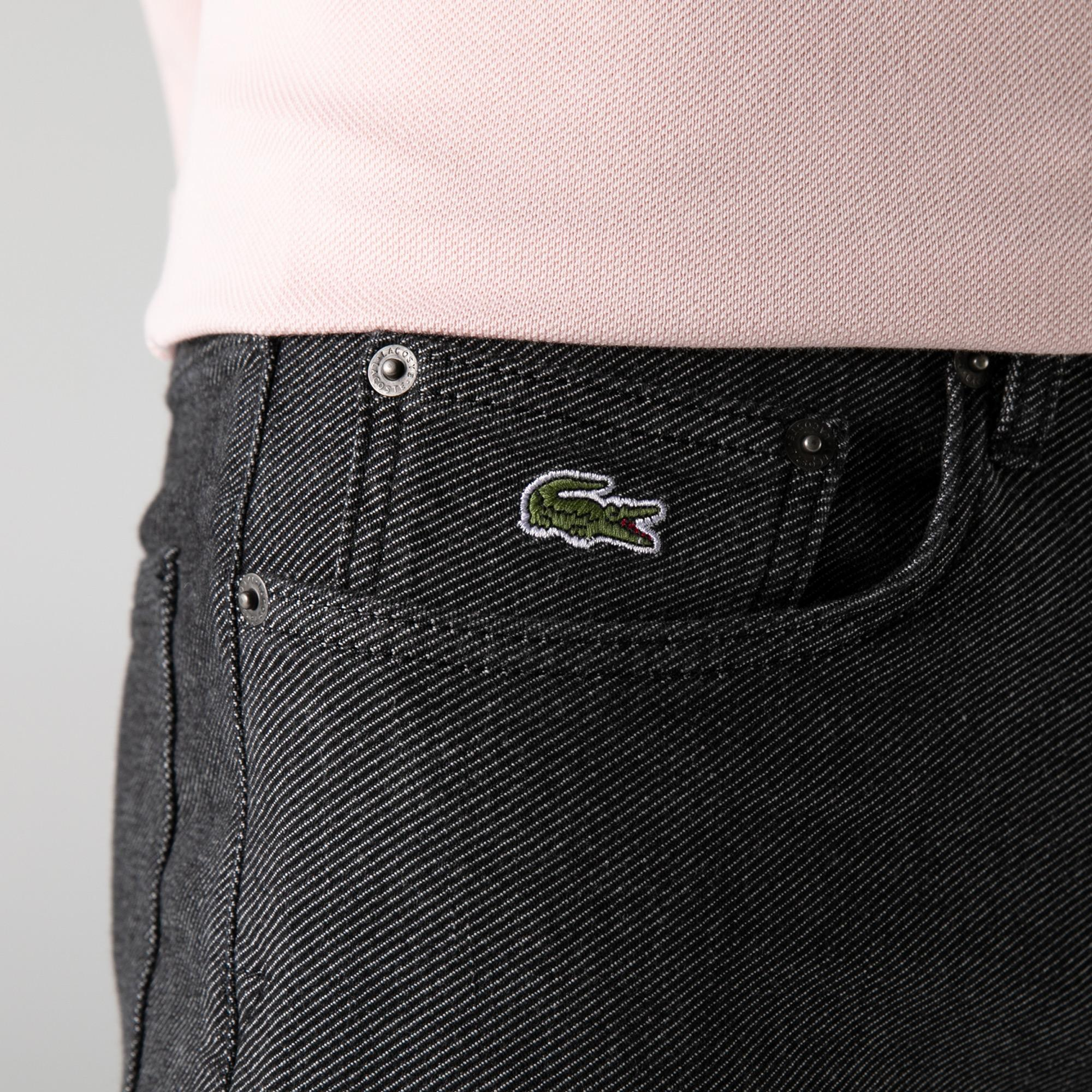 Lacoste Men's Slim Fit Denim Trousers