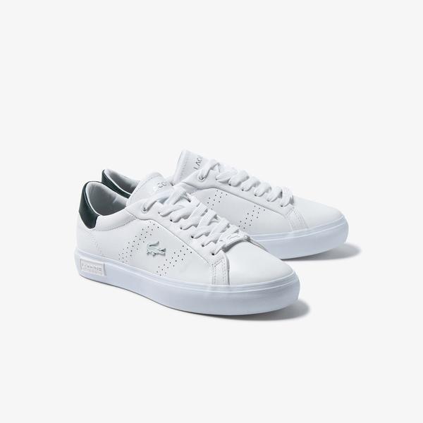 Lacoste Women's Powercourt 2.0 Leather Sneakers