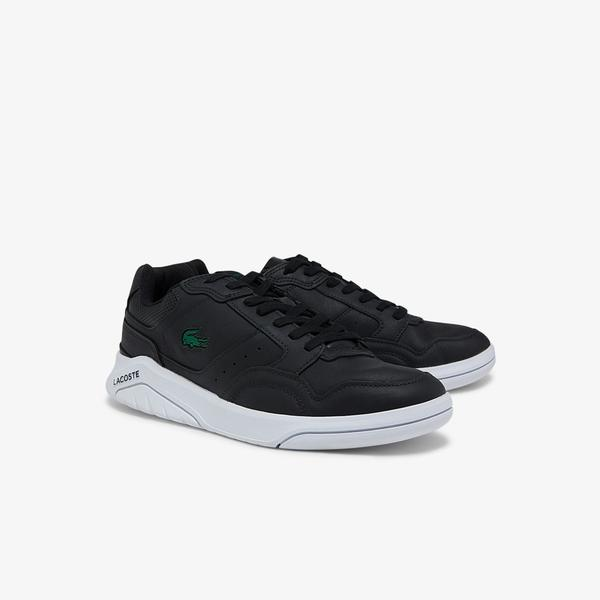 Lacoste Men's Game Advance Luxe Leather Sneakers