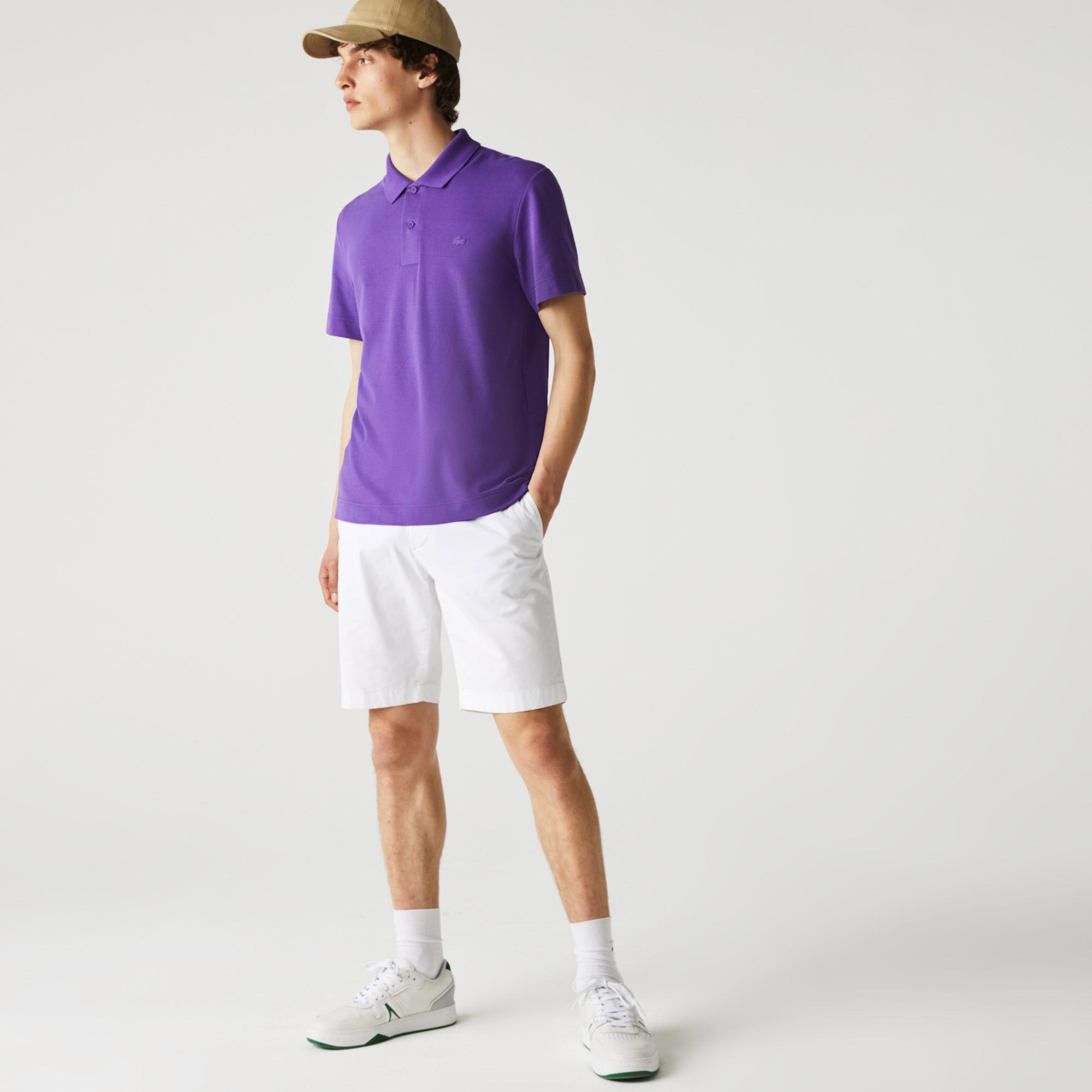 Lacoste Men's Regular Fit Light Breathable Piqué Polo