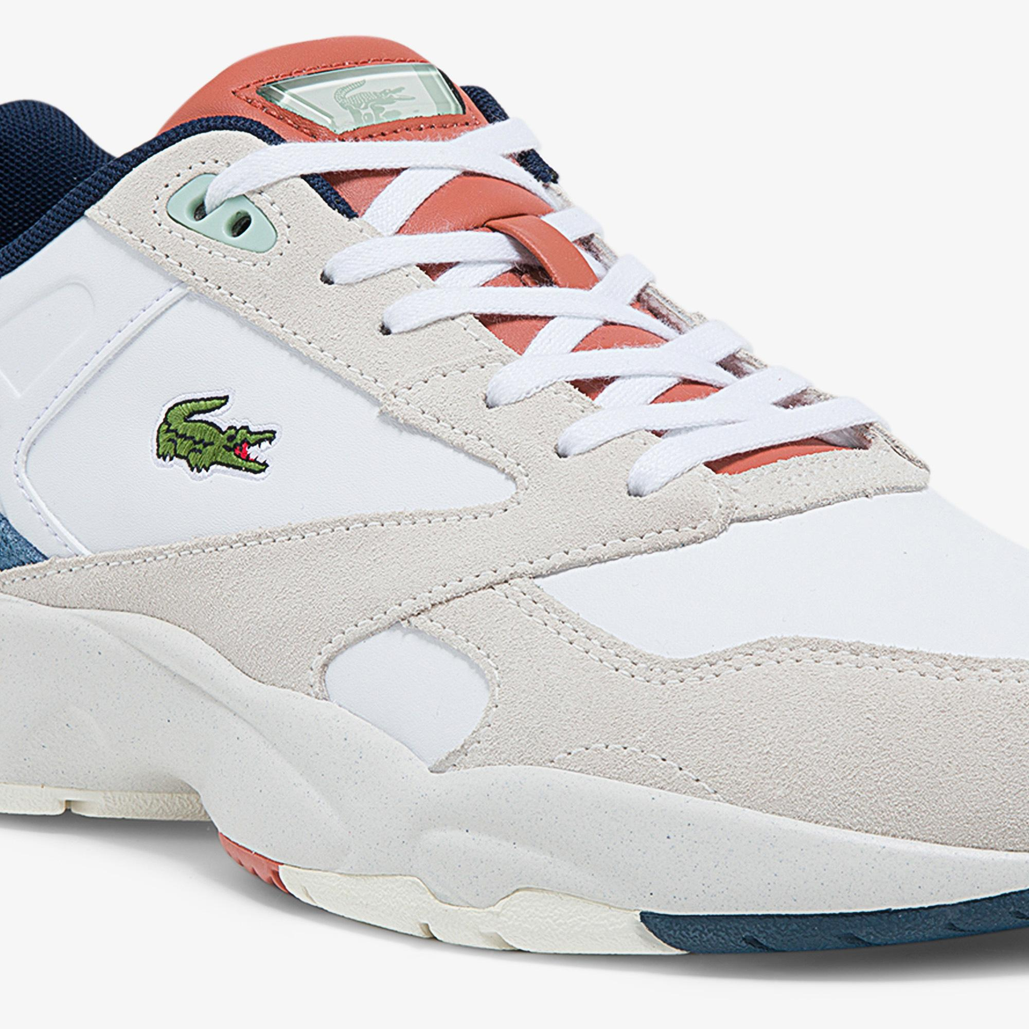 Lacoste Men's Storm 96 Synthetic, Suede and Leather Sneakers