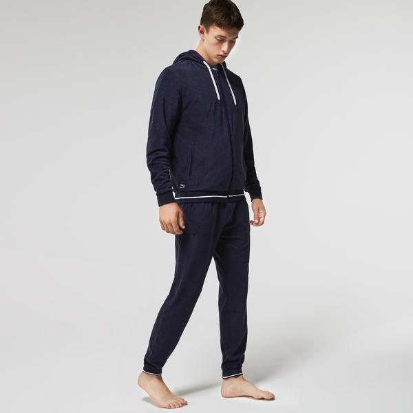 Lacoste Men's Terrycloth Zip Lounge Sweatshirt