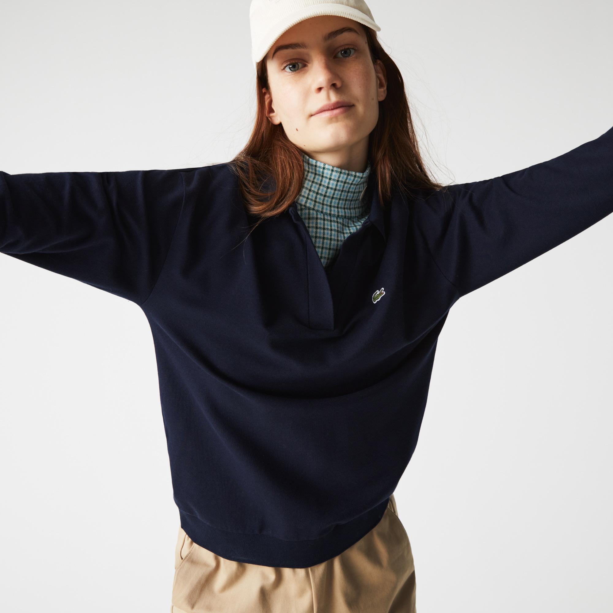 Women's Lacoste Regular Fit Open Collar Polo