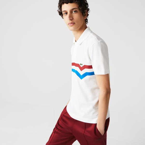 Men's Lacoste Made In France Regular Fit Organic Cotton Polo