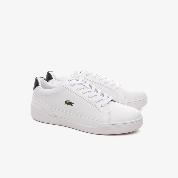 Lacoste Women's Challenge Leather and Synthetic Sneakers